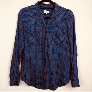 Lucky Brand | Super Soft Blue & Purple Flannel